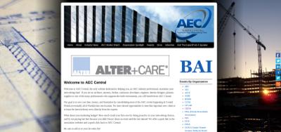 Web design Lakeland client AEC Central