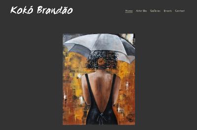 Web design Lakeland client Koko Brandao