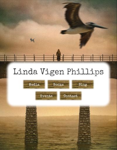 Web design Lakeland client Linda Vigen Phillips