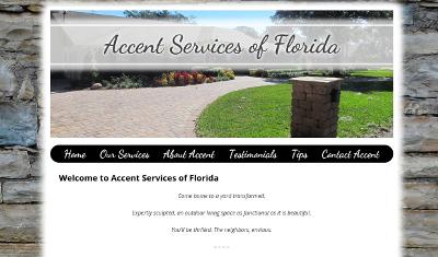 Web design Lakeland client Accent Services of Florida